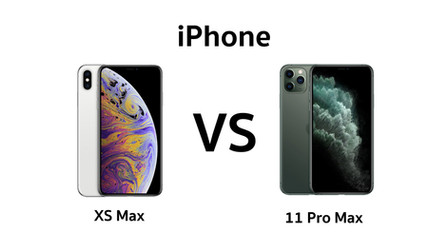เปรียบเทียบ iPhone 11 Pro Max กับ iPhone XS Max