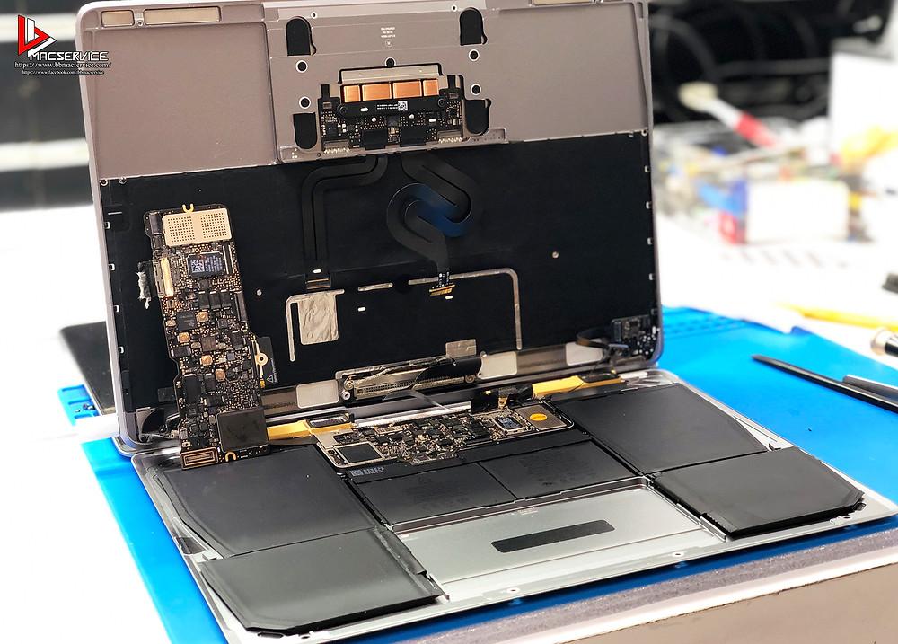 ซ่อมMacBook เปิดไม่ติด ชาร์จไม่เข้า อยุธยา