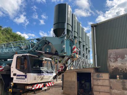 Case study - Crealy Farm silos