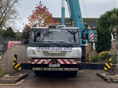 Mobile crane safety regulations
