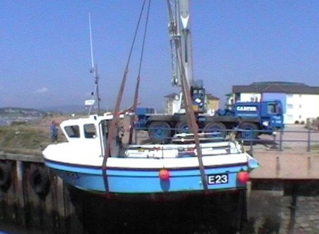 Lifting small boats