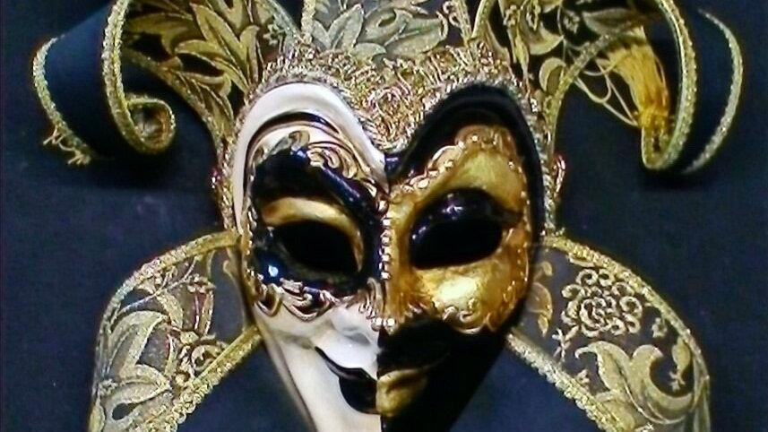 Jocker Jolly Bavero grande double nero oro