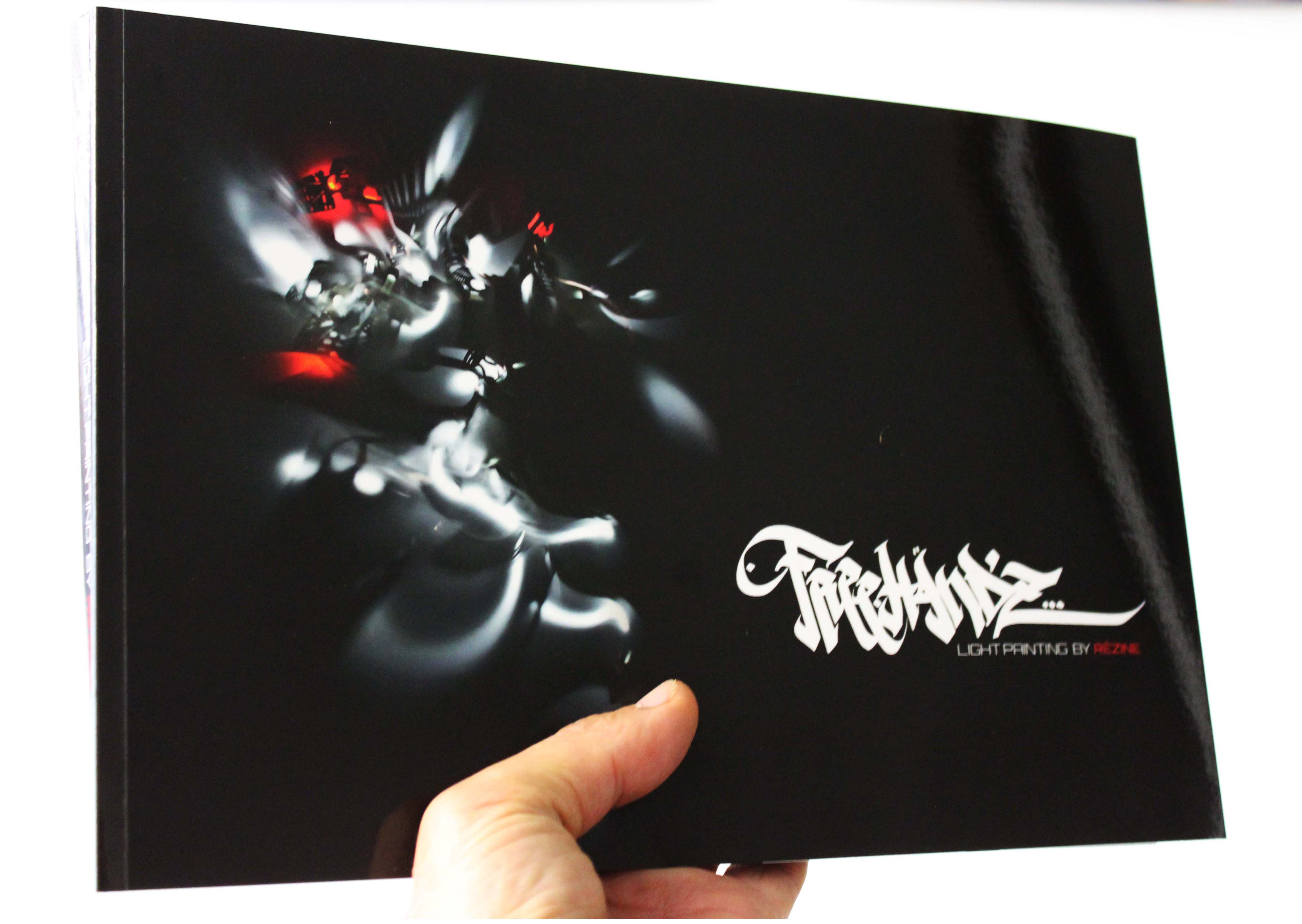 book freehandz lightpainting 164 pages A4 horizontal  - copie