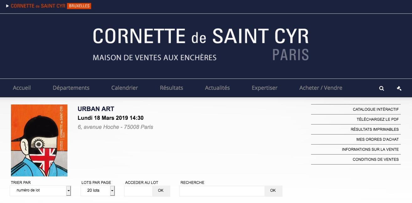 Cornette Saint Cyr