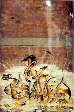 kaligraffiti Lyon 2000
