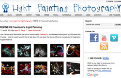 Light painting photography interview page 2013