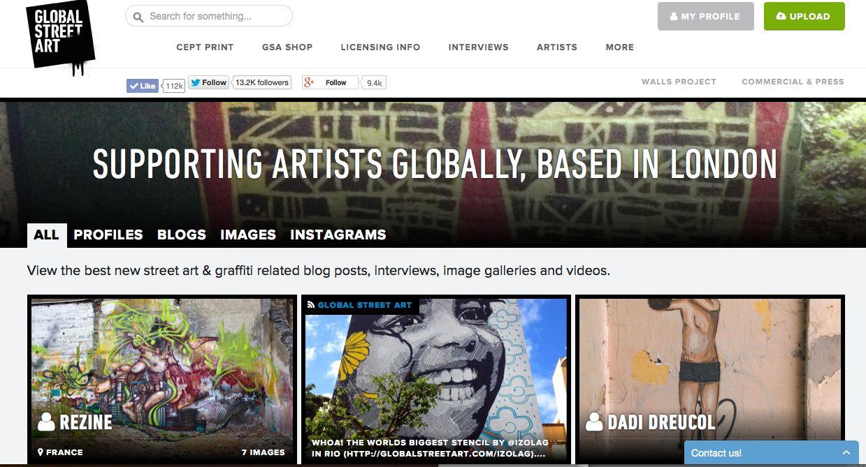 global street art 2014