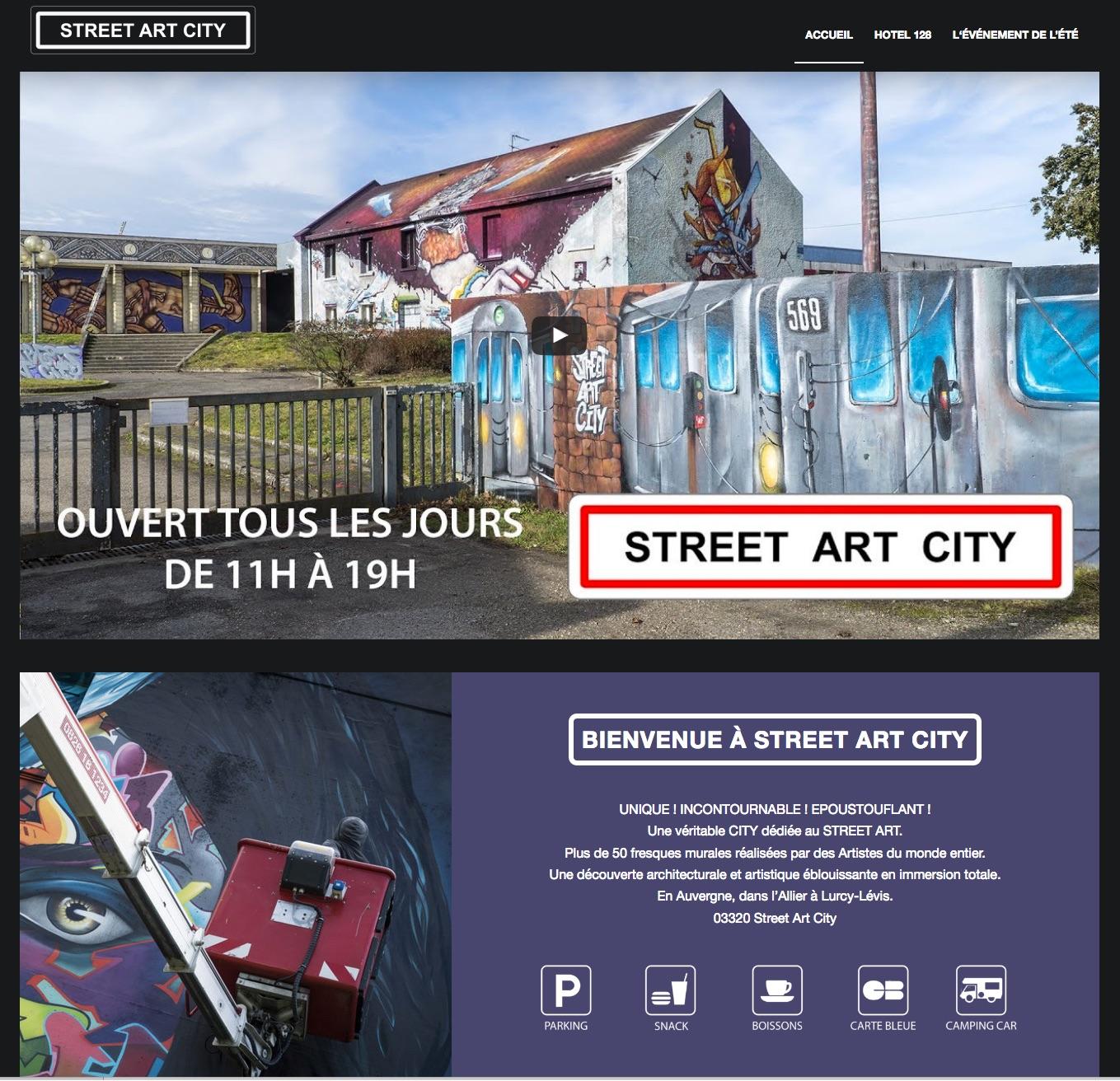streetartcity homepage