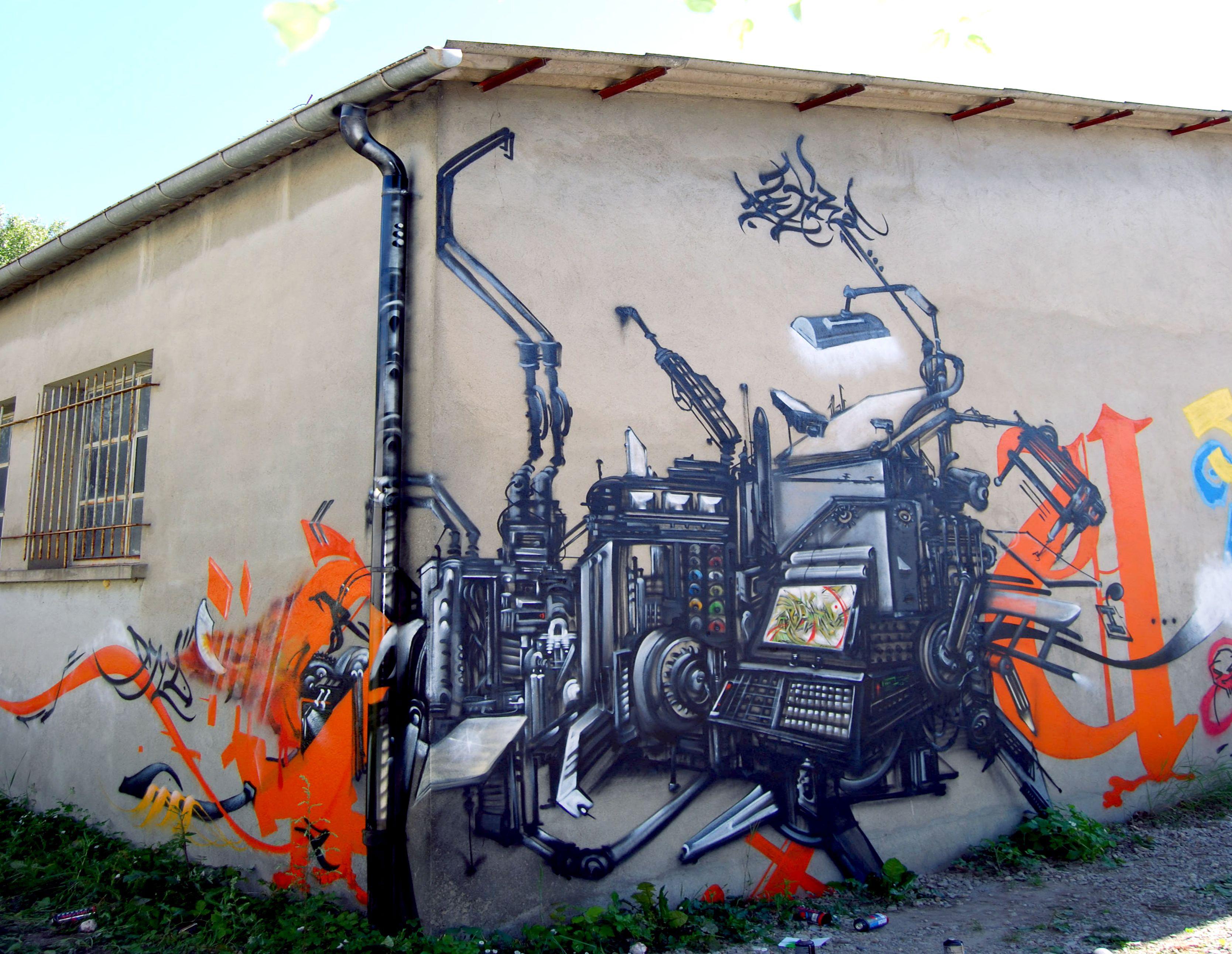 la machine à peindre