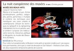 nuit europeenne des musees Orleans 2012