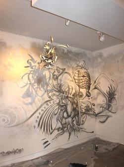 installation 2015 galerie Clemouchka