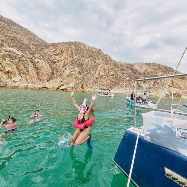 Snorkel Fun with Cabo Blue Trimaran 🐠🏖