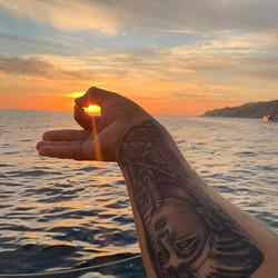 Sunsets 🌅 #caboblue #cabobluetrimaran #