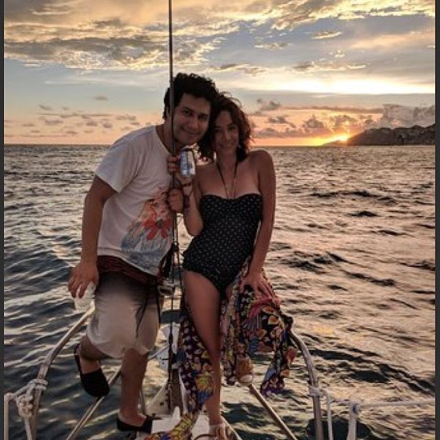 Sunsets with Cabo Blue #boatsincabo #sun