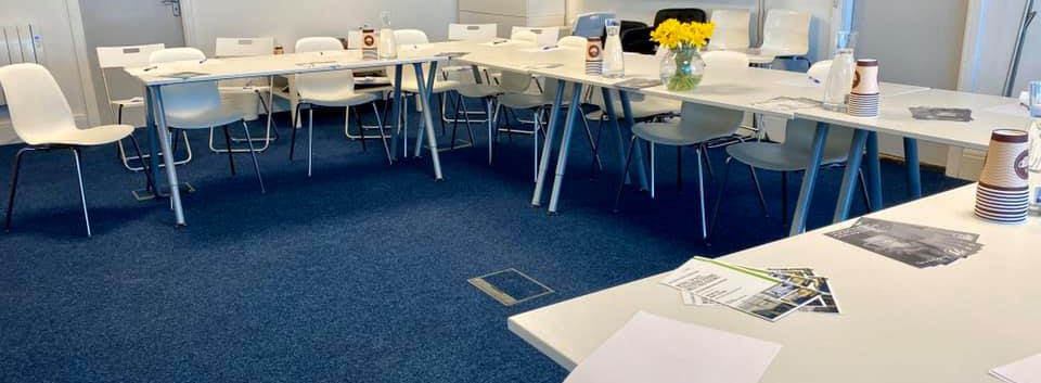 ad hoc, meeting room, morecambe, desk hire, free space, hot desk, home working, self-employed, office, office space, lancashire, conference roomonference Set up.jp