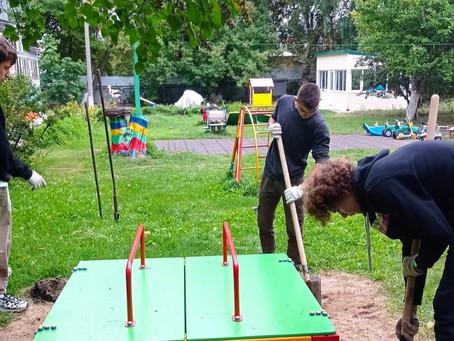 Волонтеры Государственного училища олимпийского резерва г.Самара оказали помощь дому ребёнка