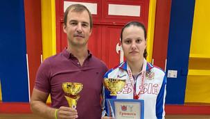 Студента 2 курса Мария Зинюхина выиграла Всероссийские соревнования по фехтованию