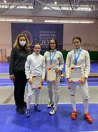 Поздравляем спортсменов отделения фехтования с успешным выступлением на Первенстве г.о. Самара!