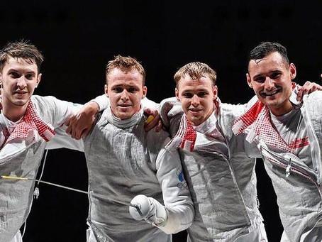 Серебро Олимпийских игр наше!!! 🤺