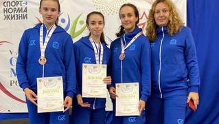 Бронза в командном зачете финала V летней Спартакиады молодежи (юниорская) России 2021 года