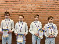 Поздравляем спортсменов отделения фехтования с отличным выступлением на соревнованиях!