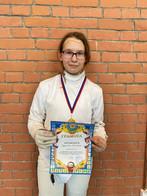 Поздравляем спортсменов отделения фехтования с победой на соревнованиях г.о. Самара по фехтованию.