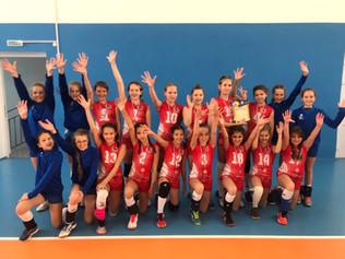 Поздравляем спортсменок отделения волейбола со 2 местом на Первенстве Самарской области по волейболу