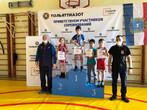 Победители и призеры турнира Самарской области среди мальчиков 12-13 лет по спортивной борьбе