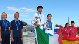 С 4.09.2021-8.09.2021 г  в Болгари состоялось первенство Европы по пляжному теннису