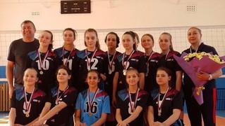 Золото на Первенстве Самарской области среди девушек до 16 лет по волейболу