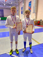Поздравляем спортсменов СШОР №17 с отличным выступлением на соревнованиях по фехтованию.