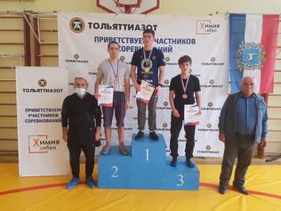 Поздравляем спортсменов отделения вольной борьбы с отличным выступлением на Чемпионате Самарской обл