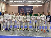 Победители и призеры Первенства Самарской области среди юниоров и юниорок до 21 года по фехтованию