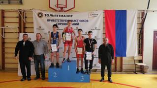 Поздравляем спортсменов отделения вольной борьбы с успешным выступлением на Первенстве г.о. Тольятти