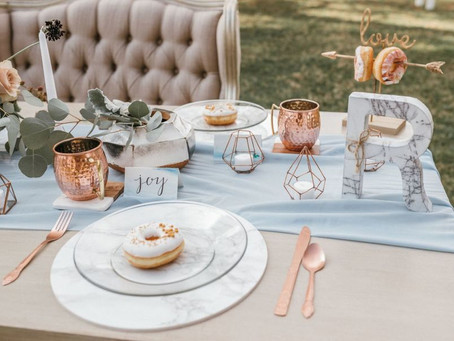 5 tendencias del 2018 en decoración de bodas