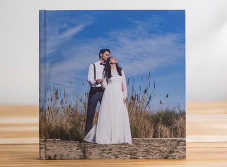 Las fotos de bodas se ven mejor en un libro