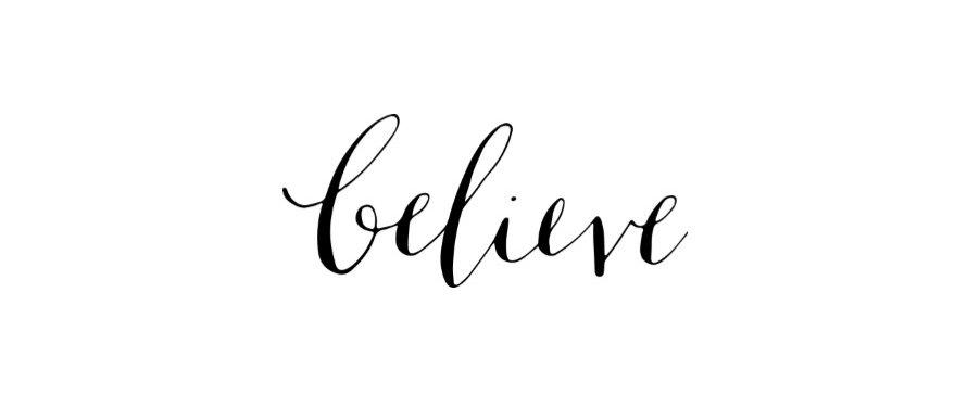 Inspiring words calligraphy temporary tattoo