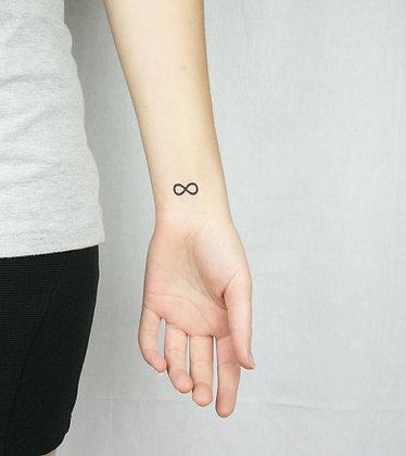 Infinity Temporary Tattoo
