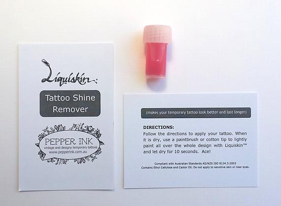 Liquiskin tattoo shine remover VIAL