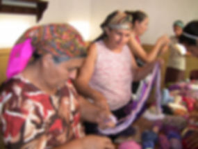 Crafts Roma Christian ladies in a craft
