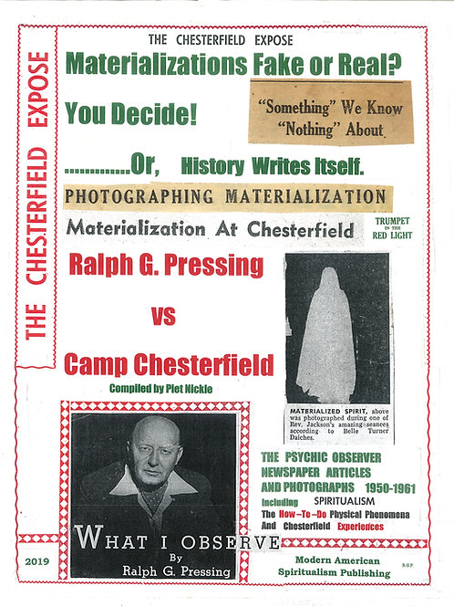 The Chesterfield Expose