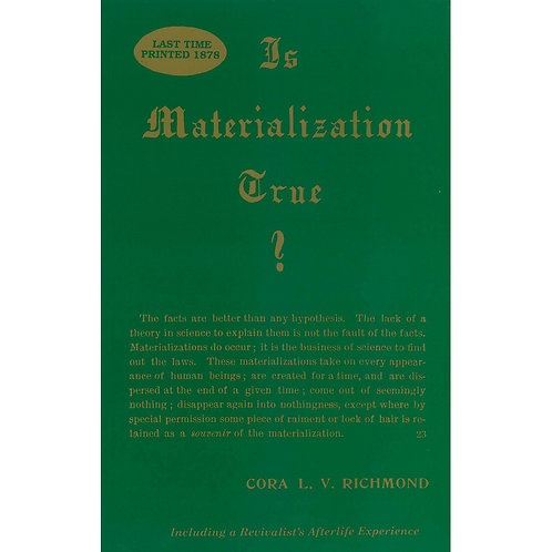 Is Materialization True?