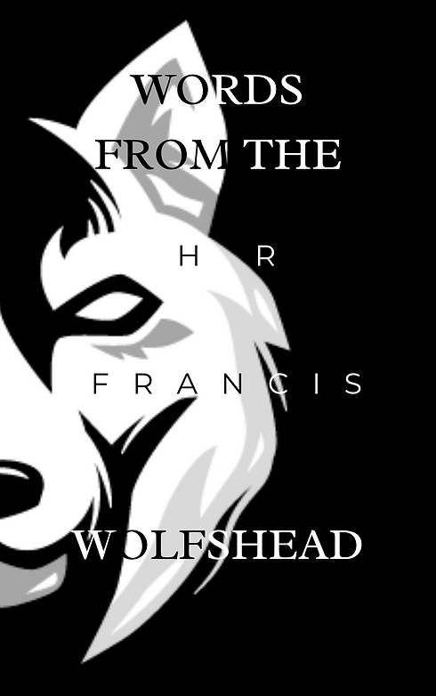 00 Words From The Wolfshead Front Cover