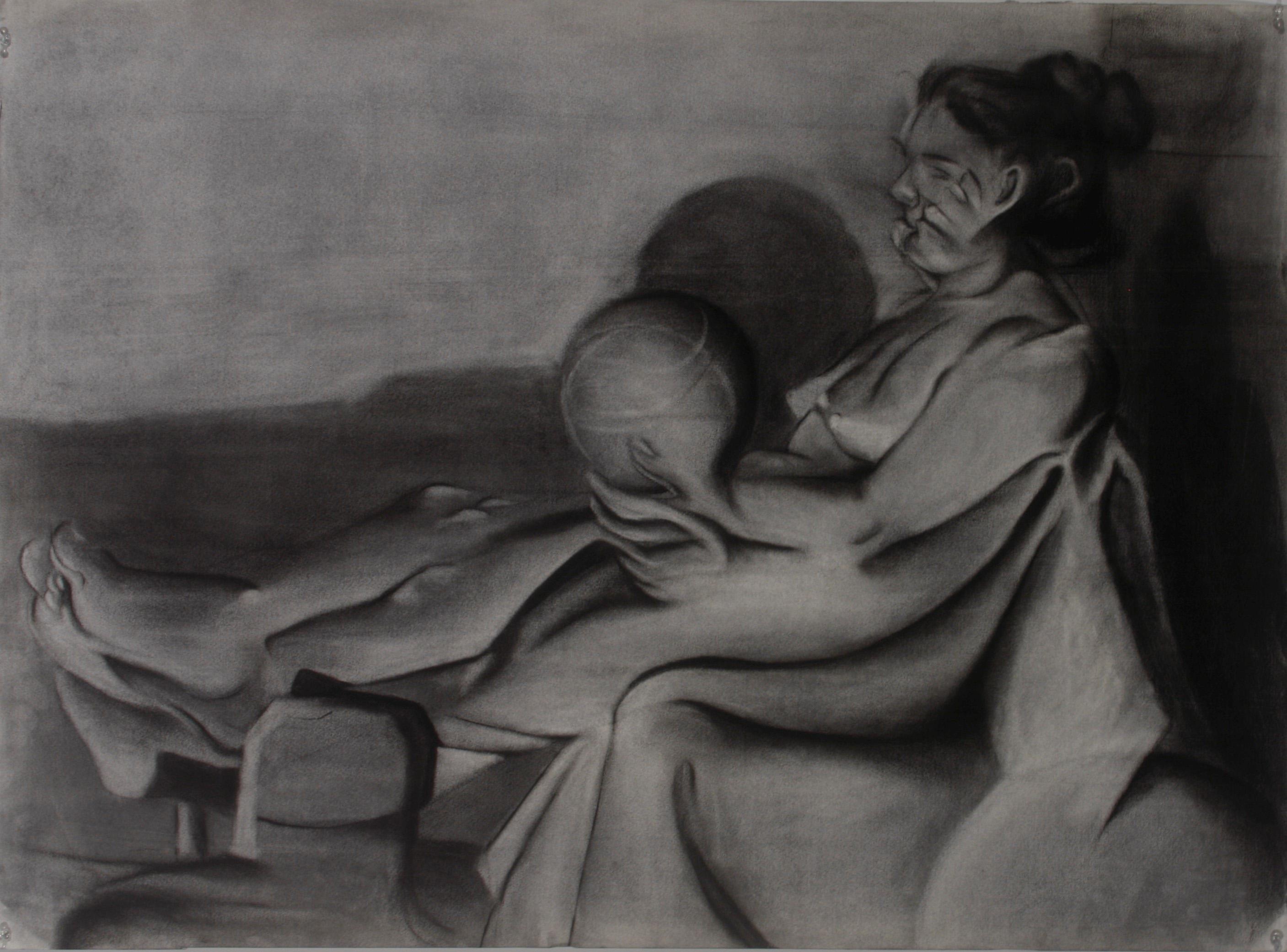 Cubist Figure Study