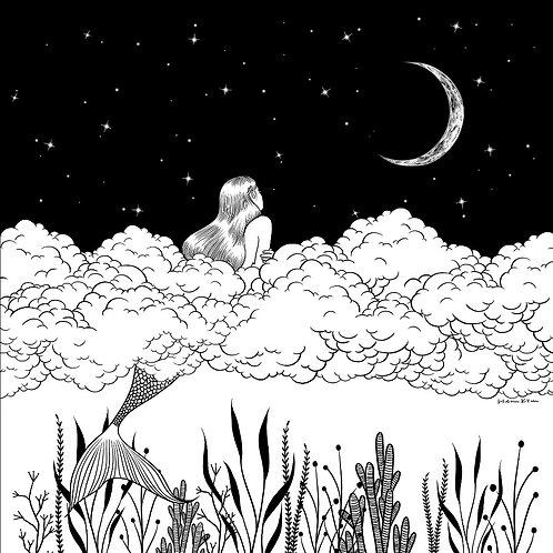 Moon River (Canvas Print)