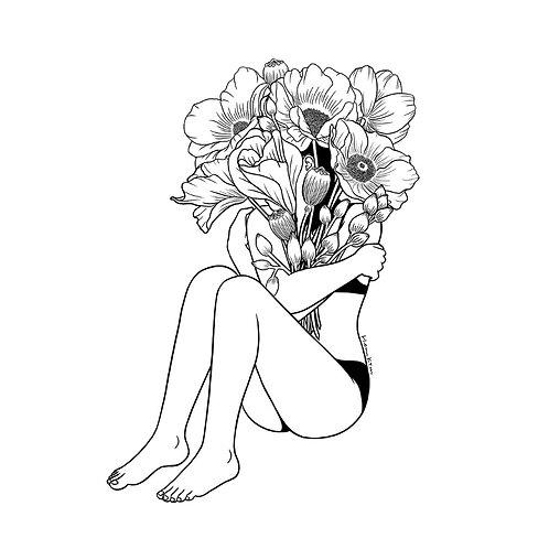 Love Myself (Canvas Print)