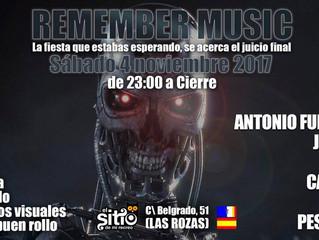 Y este sábado música Remember