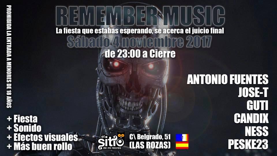 Fiesta Remember El Sitio de Mi Recreo