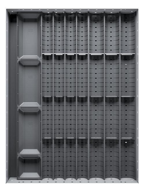 Cubio Trough Block Divider Kit 28 Compartment 400 x 525 x 28mm