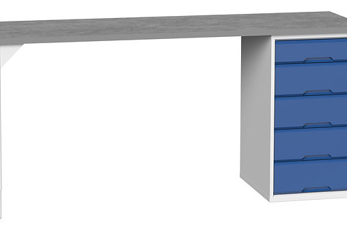 Verso Pedestal Bench 2000 x 600 x 930mm